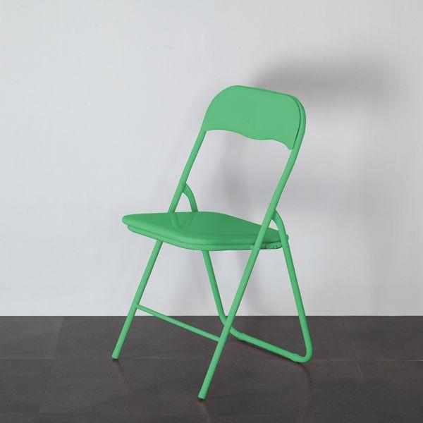 Mainstays Padded Folding Chair, Mint