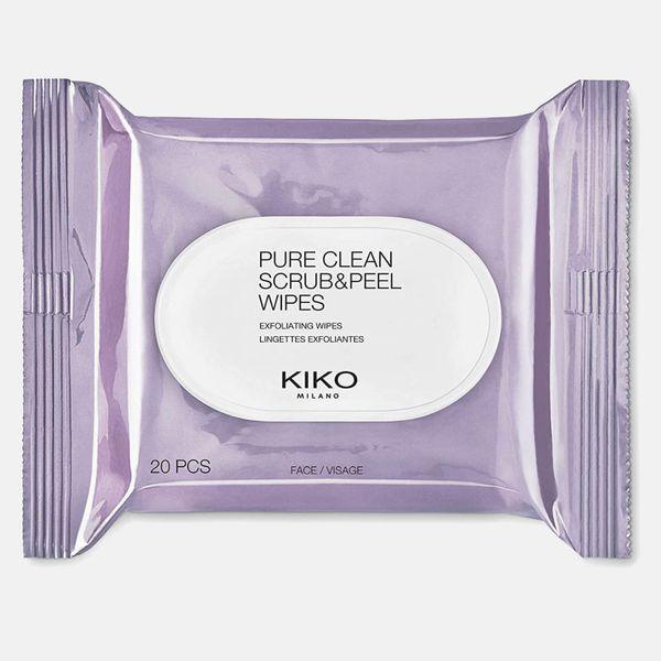 Kiko Milano Makeup Remover Scrub & Peel 2-Sided Wipes