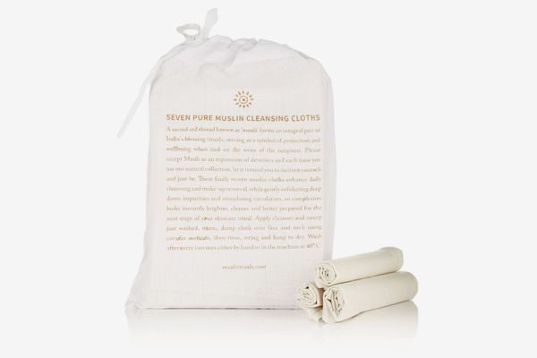 Mauli Rituals Pure Muslin Cleansing Cloths (Set of 7)