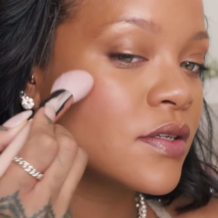 Rihanna's No-Makeup Makeup Beauty Tutorial Is The Best