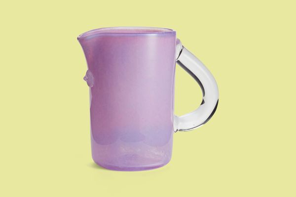 Asp & Hand Tube Pitcher