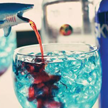 The Shark Bite, an adult beverage Joe's promises delivers