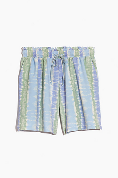 Madewell Second Wave Board Shorts in Tie-Dye Print