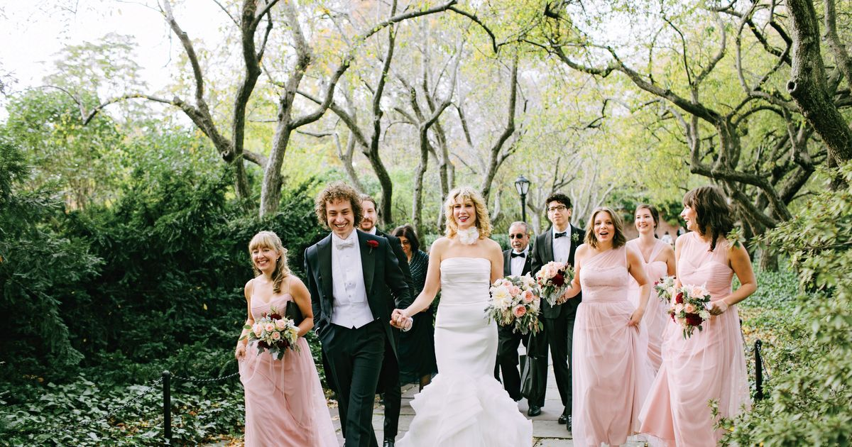 Nymag Real Weddings: Real Wedding Album: Carly Passuite And Kimble Knight