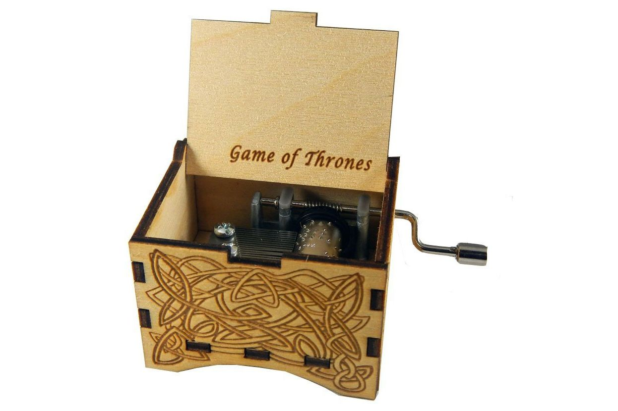 Personalizable Game of Thrones Music Box