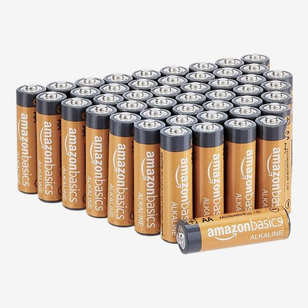 Amazon Basics 48 Pack AA High-Performance Alkaline Batteries