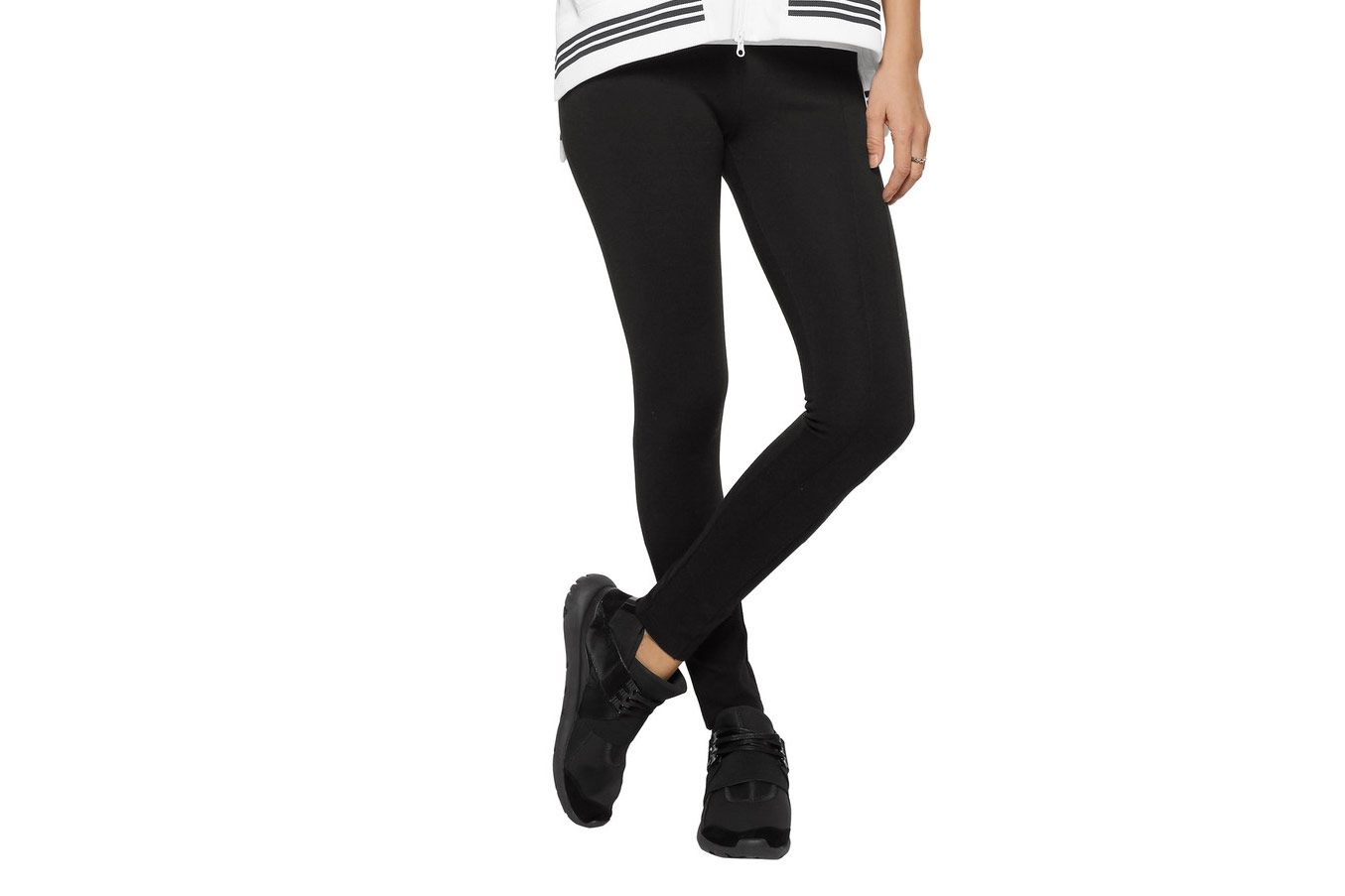 Y-3 + Adidas Stretch-Jersey Leggings