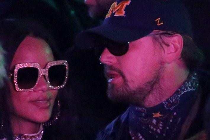Rihanna and Leo.