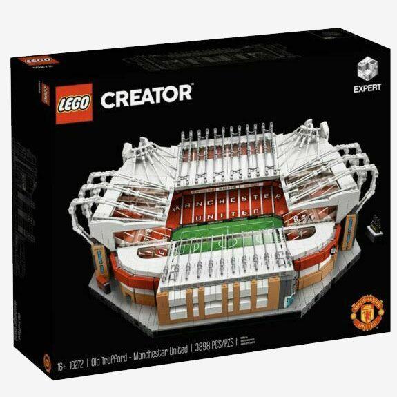 LEGO Old Trafford Soccer Stadium Set, Ages 16+