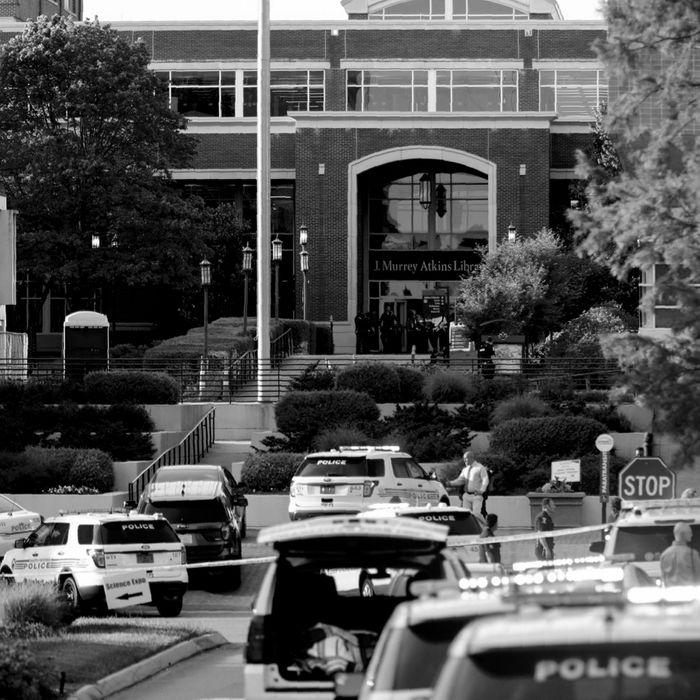 University of North Carolina at Charlotte.