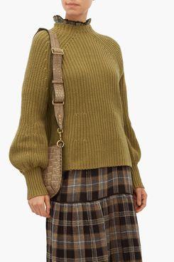 Apiece Apart Sequia Ribbed Cotton-Blend Sweater