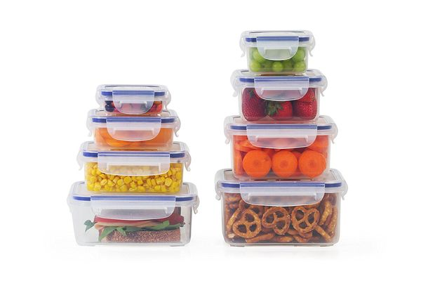 Popit! Food-Storage Containers With Lids, Set of 8