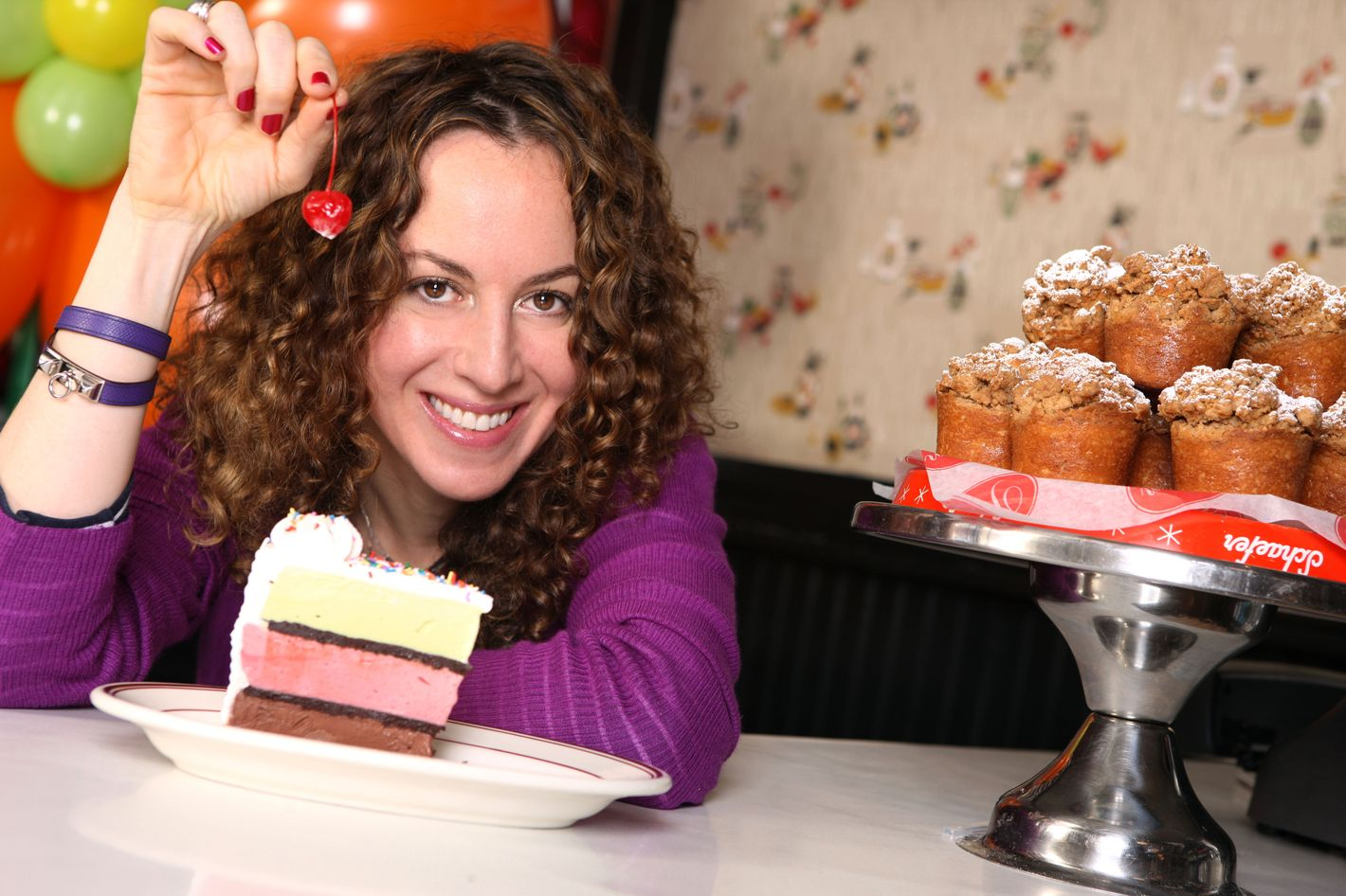 """""""I ate a lot of cake. That rendered me a little bit sick to my stomach — but also euphoric."""""""