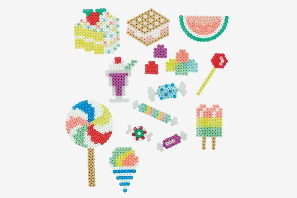 Perler 80-42882 Bucket O' Beads Fun Fusion Fuse Bead Kit-Sweet Shoppe