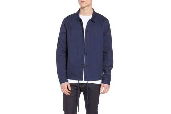 Snap Front Coach's Jacket