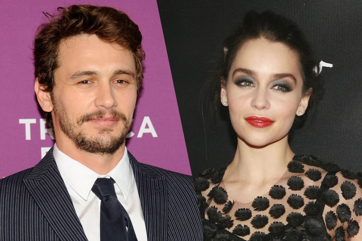 James Franco Girlfriend History Ele james franco may be dating daenerys targaryen