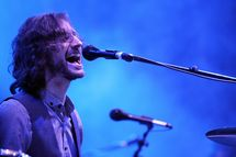 Wally De Backer of Gotye performs on stage at the Groovin The Moo Festival on May 7, 2011 in Maitland, Australia.