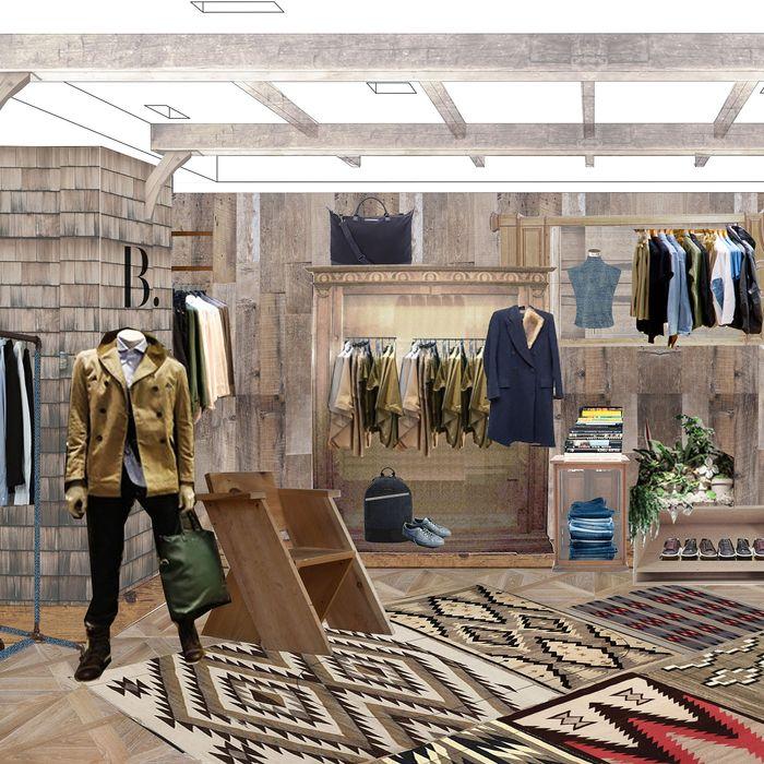 772c809d7 Bergdorf Goodman Men's Store Opens New Concept Store