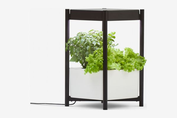 Miracle-Gro Indoor Growing System Side Table for Leafy Greens, Herbs and Flowers