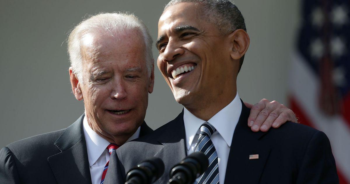 Joe Biden and Barack Obama's One-Sided Embrace