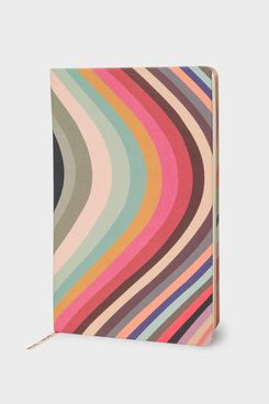 Paul Smith Medium Swirl Stripe Notebook