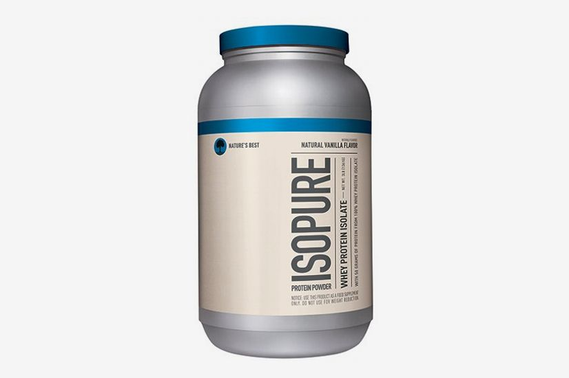 Isopure Naturally Flavored Protein Powder, 100% Whey Protein Isolate, Keto Friendly, Natural Vanilla