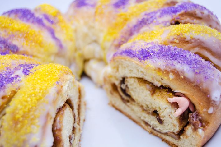 Some people aren't down with the king cake, even the Mardi Gras version.