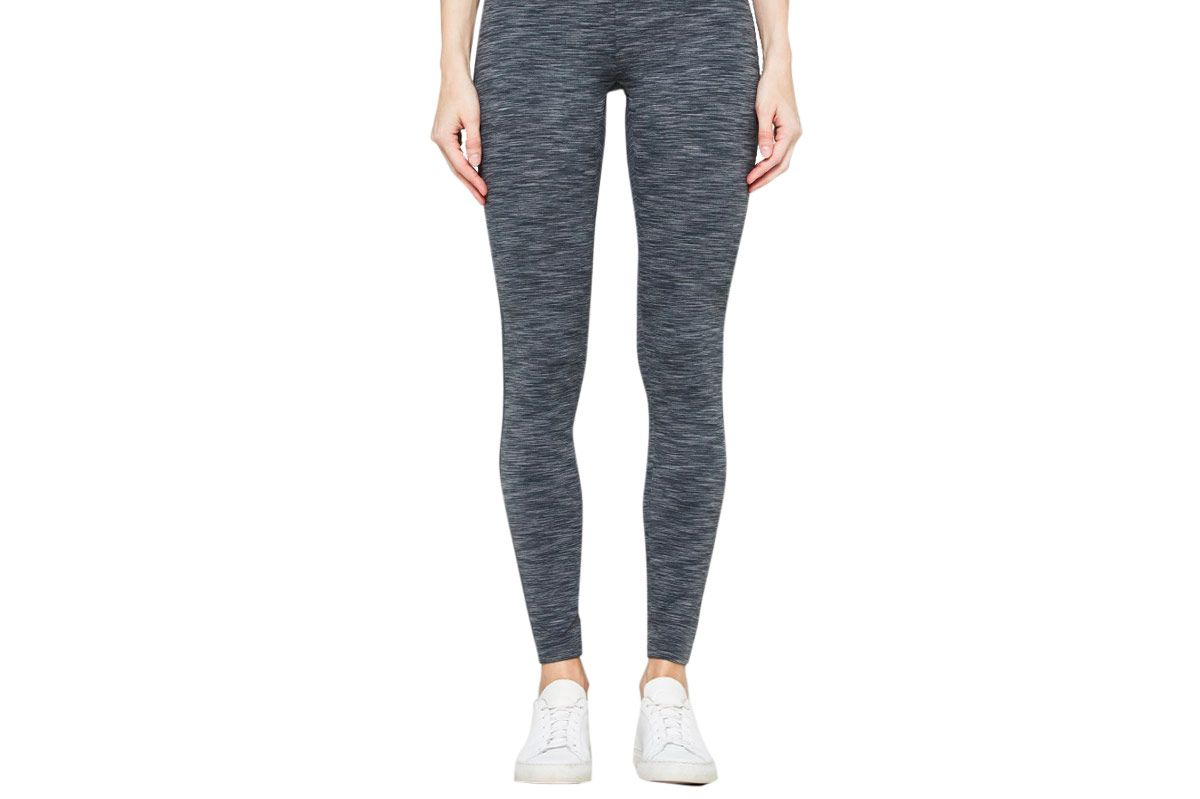 A.P.C. Graphic Legging in Gray