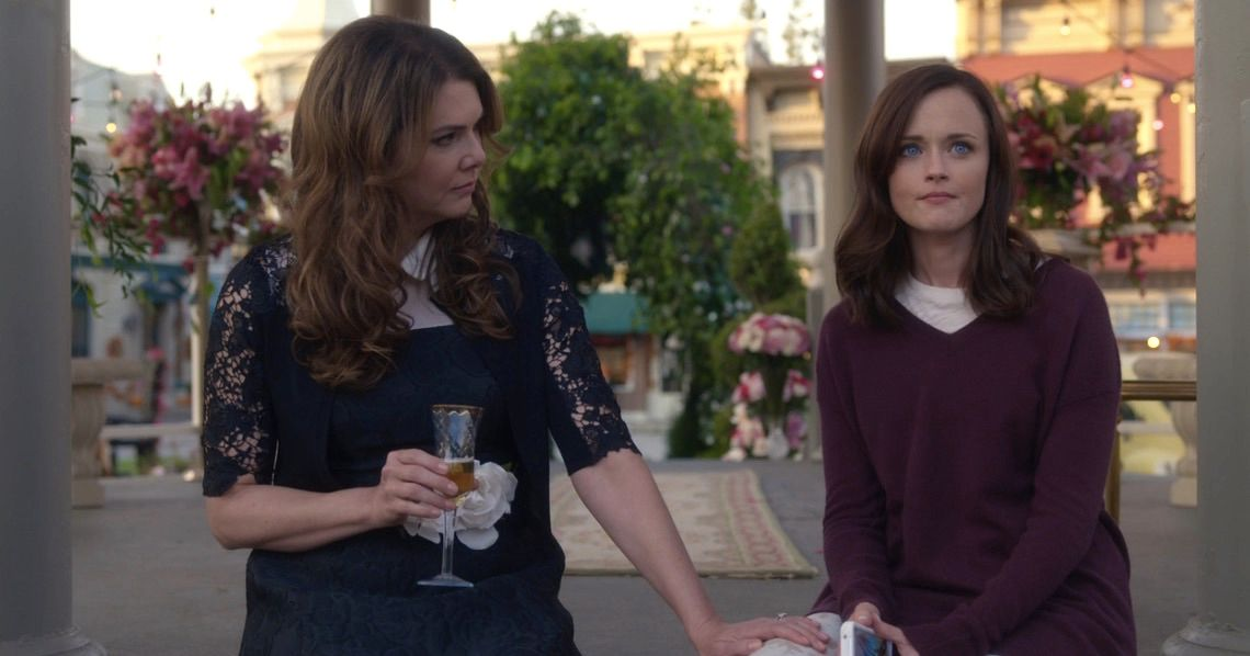 Gilmore Girls: A Year in the Life is the actual show