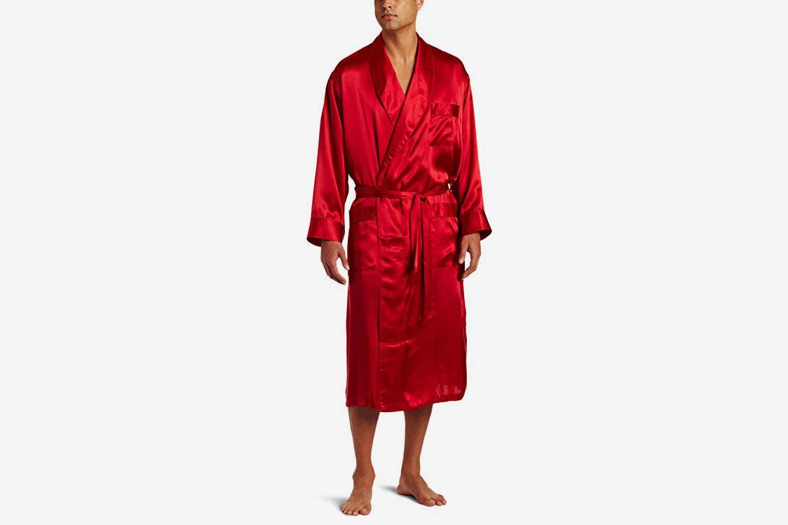 427919b7f3 Best silk bathrobe. Intimo Men s Classic Silk Robe