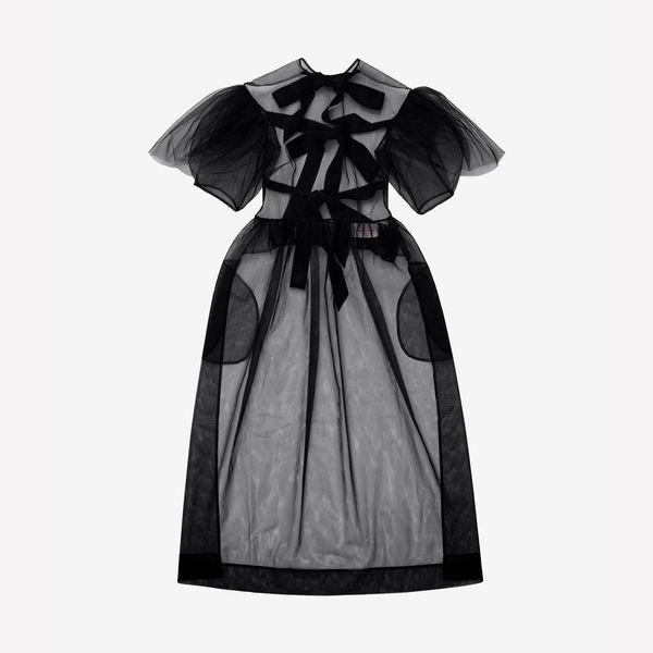 Simone Rocha x H&M Satin Tie Dress