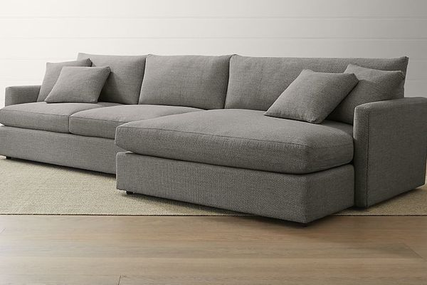 Crate and Barrel Lounge II Sectional Sofa