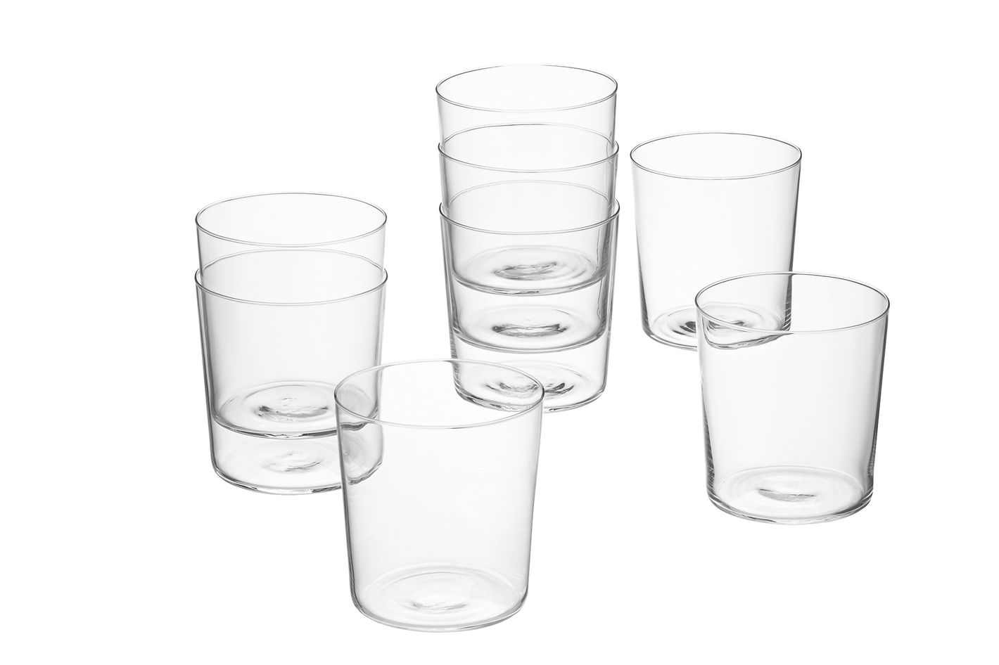 CB2 Marta Double Old Fashioned Glasses