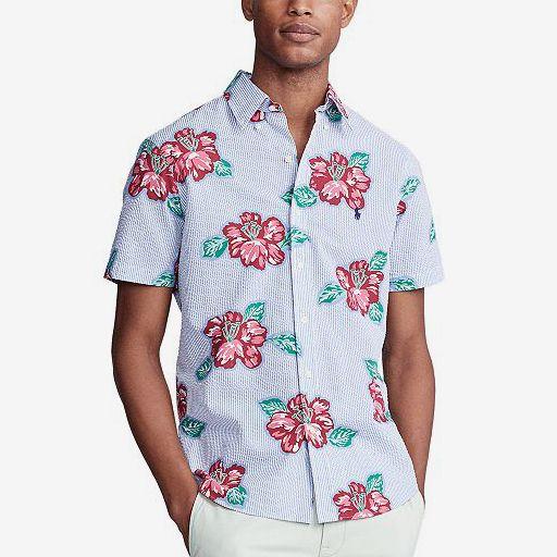 Polo Ralph Lauren Men's Classic-Fit Seersucker Shirt
