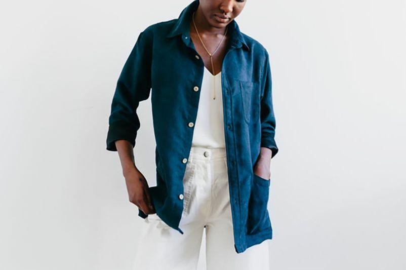 Corridor Brushed Shirt Jacket