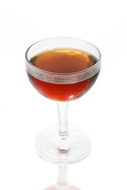 "<b>Whiskey Sinister</b>  <i><a href=""http://www.curenola.com"">Cure</a>, New Orleans</i>  Cure says its drinks are ""inspired by the historical period when cocktails grew out of medicine and home remedies."" This strong drink might not actually cure you, but it will definitely make you feel good: In a mixing glass, combine 1 1/2 ounces blended Scotch (Cure uses <a href=""http://www.bevmo.com/Shop/ProductDetail.aspx?ProductID=1592"">Sheep Dip</a>), 3/4 ounce each cream sherry and <a href=""http://dandm.com/maurin-quina-le-puy-liqueur.html"">Maurin Quina</a>, and 3 dashes Angostura bitters. Stir with ice and strain into a chilled coupe glass."