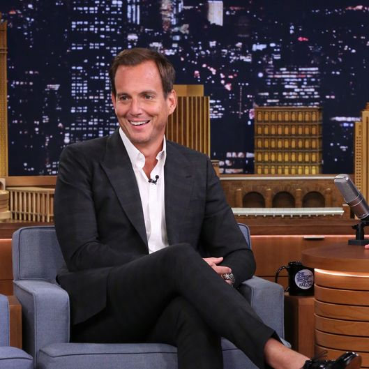 THE TONIGHT SHOW STARRING JIMMY FALLON -- Episode 0103 -- Pictured: Actor Will Arnett on August 7, 2014 -- (Photo by: Douglas Gorenstein/NBC/NBCU Photo Bank)