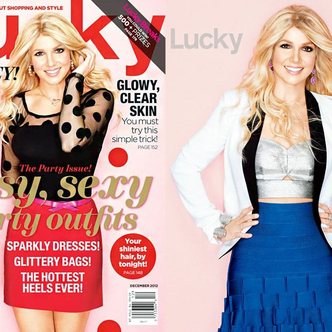 Lucky Magazine Really Sorry About Their New Britney Cover