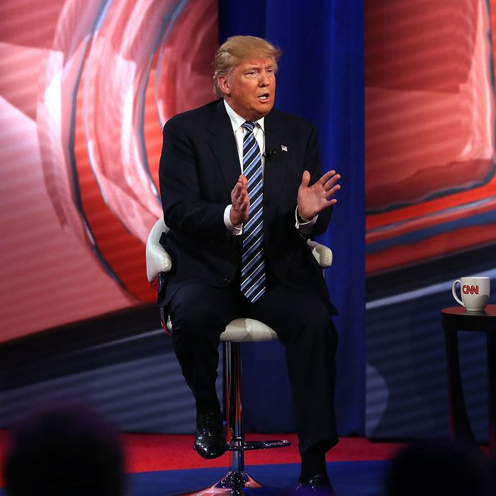 Republican Presidential Candidates Take Part In CNN Town Hall