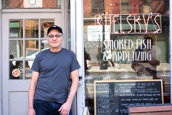 """Kaminsky, in the center of the """"Brooklyn food explosion."""""""