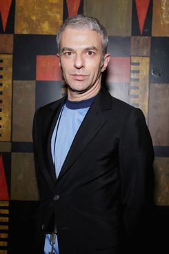 Rodolfo Paglialunga attends the Town & Country celebrates new Creative Director at Large Nicoletta Santoro at a private dinner as part of Milan Fashion Week Womenswear Autumn/Winter 2014 at the Giacomo Arengario restaurant on February 23, 2014 in Milan, Italy.