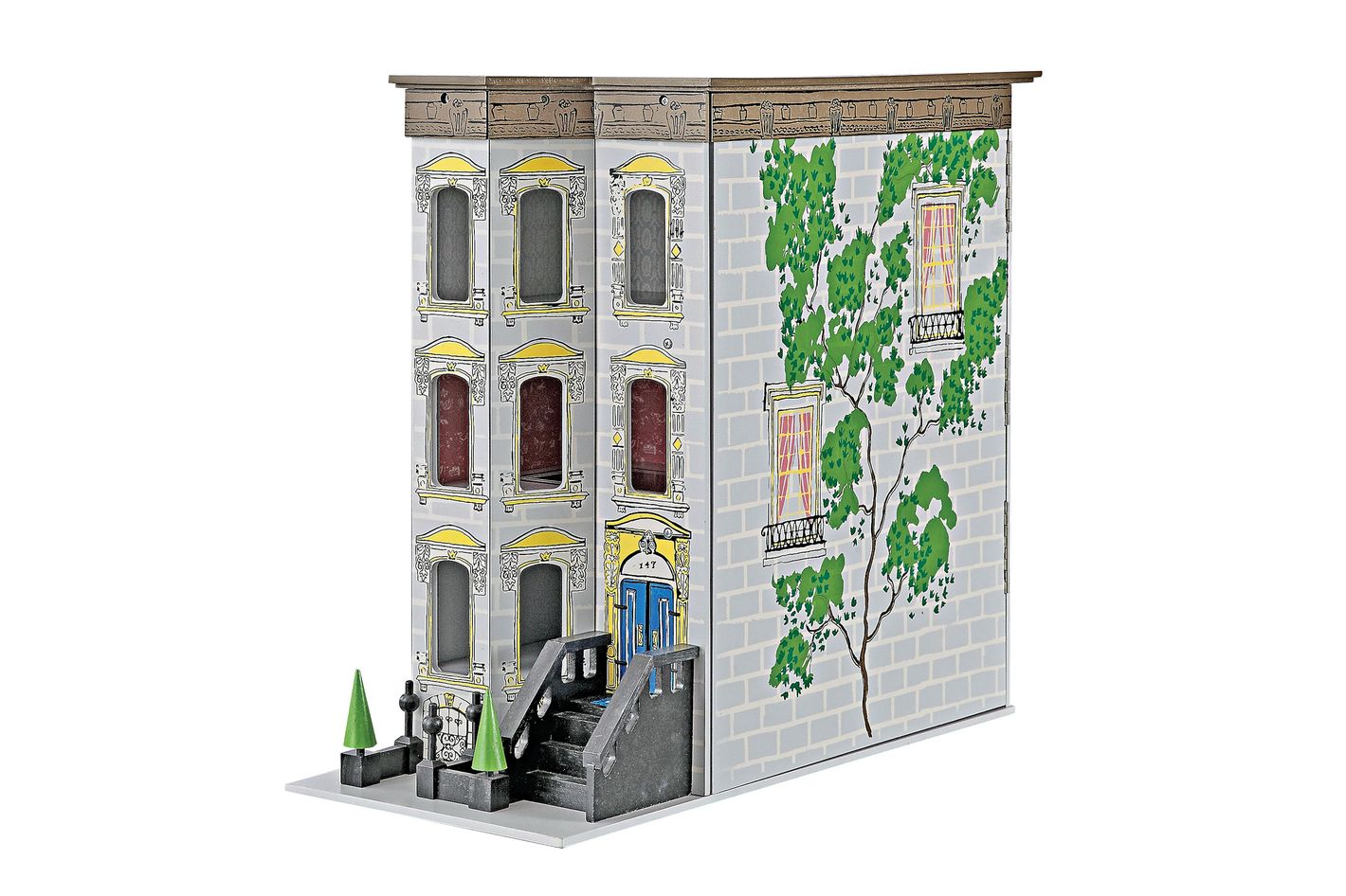 Brownstone Dollhouse