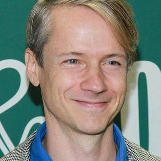 NEW YORK, NY - OCTOBER 14: John Cameron Mitchell promotes new book,