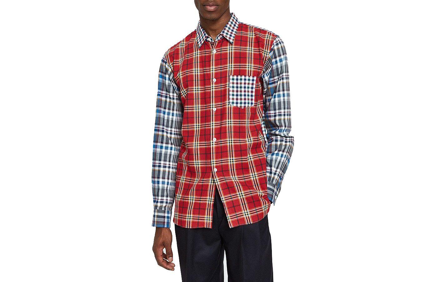 Comme des Garçons Shirt Cotton Check x Cotton Tartan Check Shirt