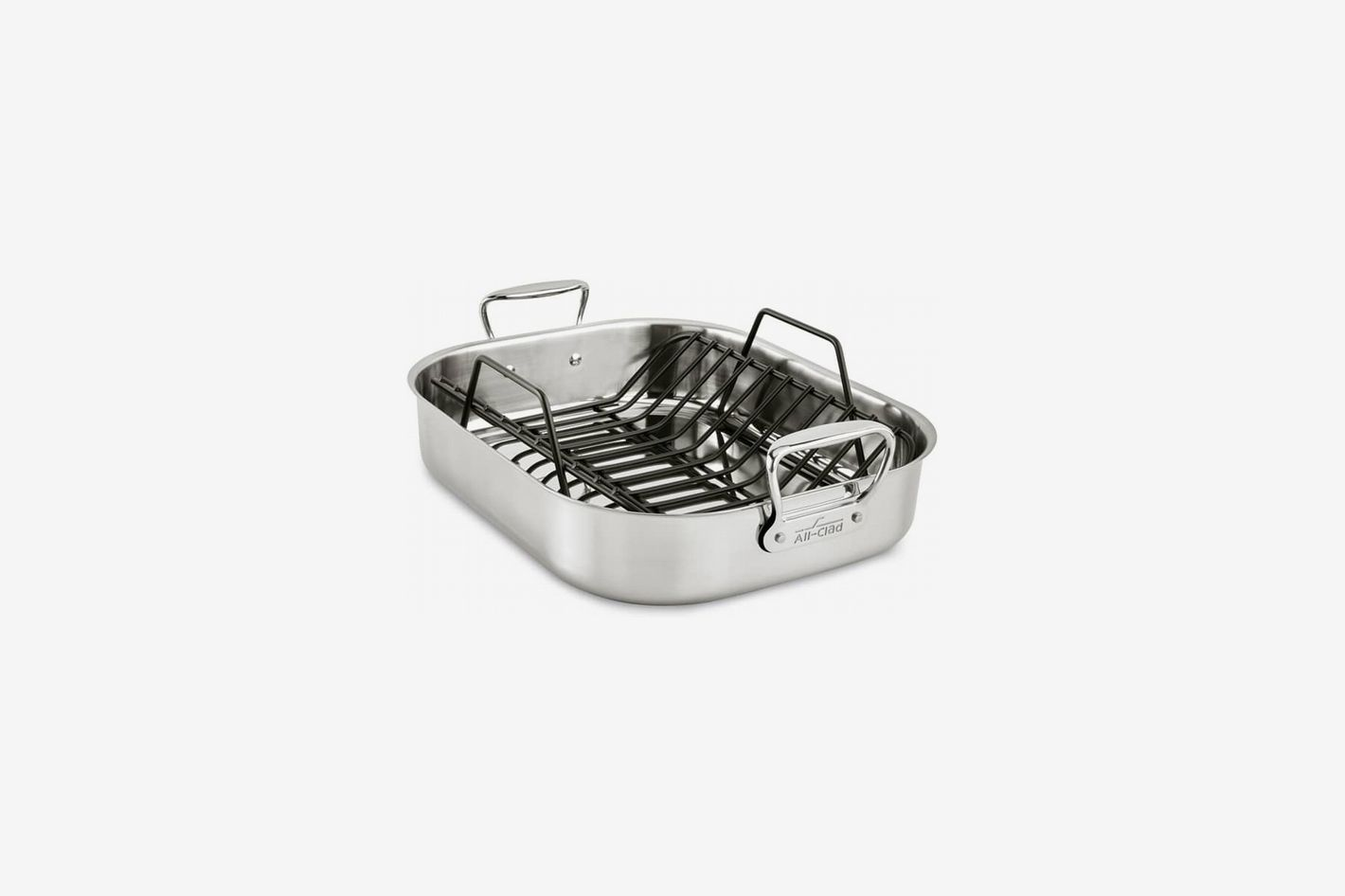 All-Clad Large Stainless Steel Roasting Pan & Roaster Rack