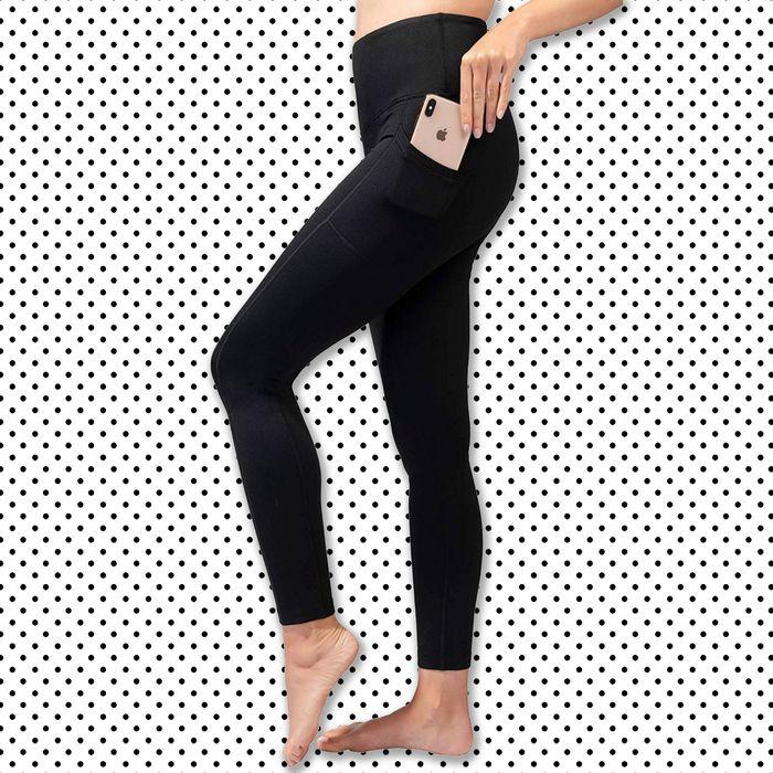 2 Looks 1 Pair Lot of 7 Leggs Convert-A-Tight Leggings BLACK Size Large