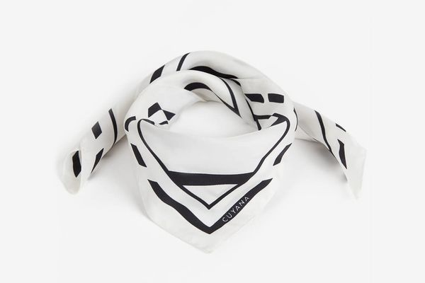 Silk Striped Scarf
