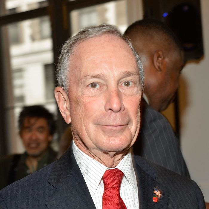 NEW YORK, NY - OCTOBER 04: Mayor Michael Bloomberg attends the Public Theater unveiling on October 4, 2012 in New York City. (Photo by Ben Gabbe/Getty Images)