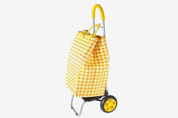 Dbest Trolley Dolly Basket Weave