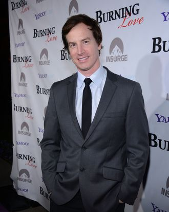 HOLLYWOOD, CA - FEBRUARY 05: Actor Rob Huebel attends Paramount's Insurge presentation of the season 2 premiere of 'Burning Love' held at Paramount Studios on February 5, 2013 in Hollywood, California. (Photo by Mark Davis/Getty Images for Paramount)